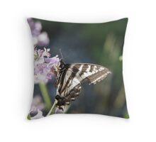 Pale Swallowtail Throw Pillow