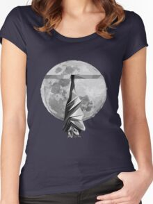 Sleeping Flying-Fox Women's Fitted Scoop T-Shirt