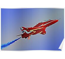 The Red Arrows Duxford 4 Poster