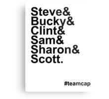 Team Captain Metal Print