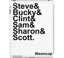 Team Captain iPad Case/Skin