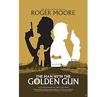 The Man with the Golden Gun - Movie Poster Photographic Print