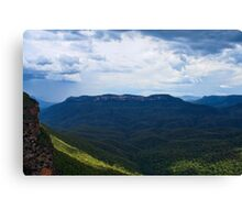 Stormy Mount Solitary Canvas Print
