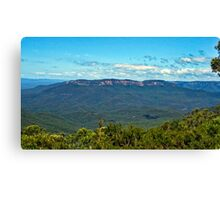 Sunny Mount Solitary Canvas Print