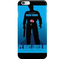 The Spy Who Loved Me - Movie Poster iPhone Case/Skin