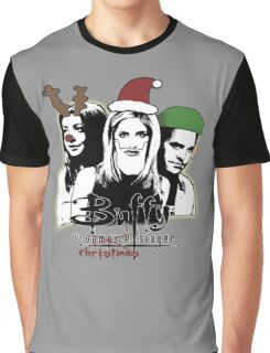 Buffy the Christmas Slayer! Graphic T-Shirt