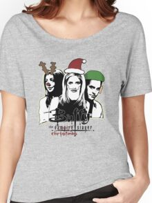 Buffy the Christmas Slayer! Women's Relaxed Fit T-Shirt