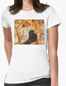 Dancer of ancient Egypt Womens Fitted T-Shirt