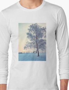 Northern Ireland Farm Sunset Long Sleeve T-Shirt
