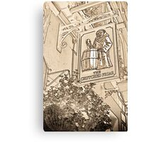 The Crutched Friar Public House Canvas Print