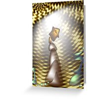 Contemplation Power Greeting Card