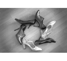 her shoes Photographic Print