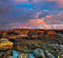 Last Light Rocks by bazcelt