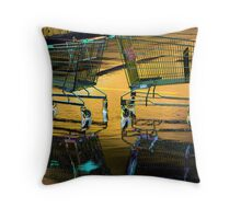 Dance of the water trollies Throw Pillow