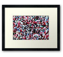 Shotgun Shells Framed Print