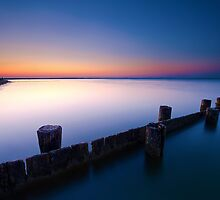 Long Exposed Jetty by Joseph T. Meirose IV