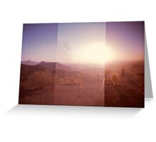 Valley of the Sun Greeting Card