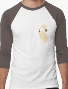 Growlithe! Men's Baseball ¾ T-Shirt