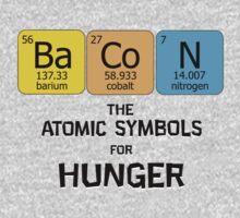 Atomic Symbol for Hunger Kids Tee