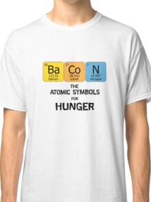 Atomic Symbol for Hunger Classic T-Shirt
