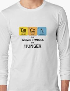 Atomic Symbol for Hunger Long Sleeve T-Shirt