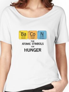Atomic Symbol for Hunger Women's Relaxed Fit T-Shirt