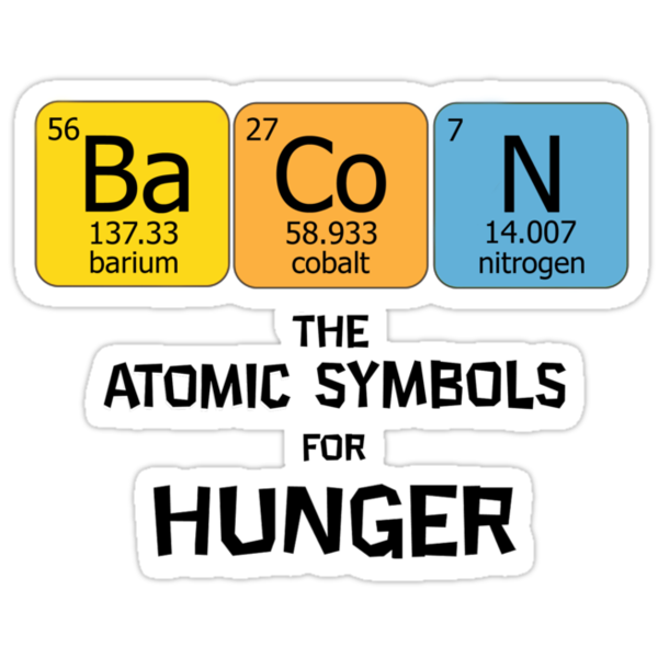 Atomic Symbol for Hunger by DomCowles12