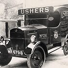 Ushers Brewery Delivery Van by Trowbridge  Museum