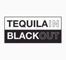 Tequila blackout t-shirt by ethnographics