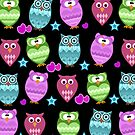 funky owls by Ancello