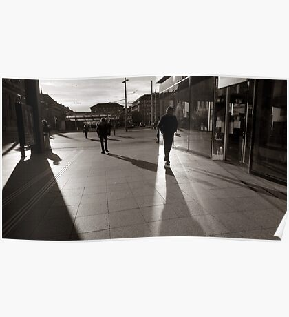 Railwaystation, Bern Poster
