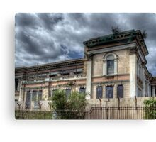 Derelict Crumlin Road Courthouse  Canvas Print