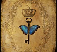 Locks & Butterfly Keys 2 by Norella Angelique