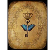 Locks & Butterfly Keys 2 Photographic Print