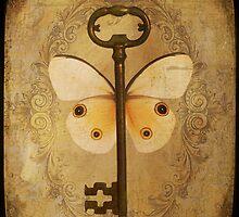 Locks & Butterfly Keys 3 by Norella Angelique