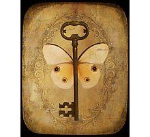 Locks & Butterfly Keys 3 Photographic Print