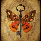 Locks & Butterfly Keys 5 by Norella Angelique