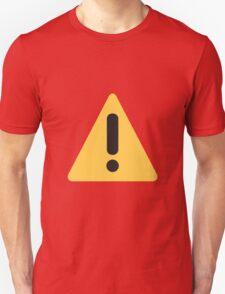 Warning sign Emoji T-Shirt