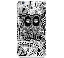 doodle owl iPhone Case/Skin