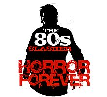 The 80s Slasher Photographic Print