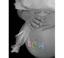 Waiting For Ella ~ Photographic Print