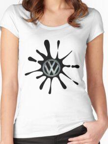 Splat.... Women's Fitted Scoop T-Shirt