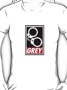 OBEY GREY Clothing T-Shirt