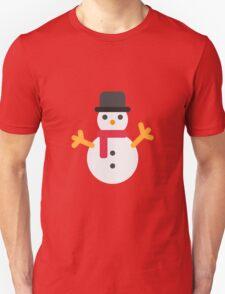 Snowman Emoji T-Shirt
