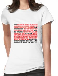 B is not Bag Womens Fitted T-Shirt