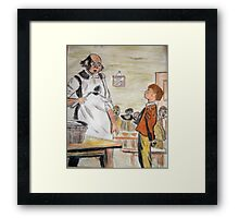 Oliver Twist Framed Print