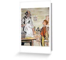 Oliver Twist Greeting Card