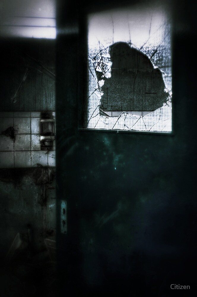 Behind the door by Nikki Smith