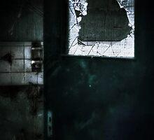 Behind the door by Nicola Smith