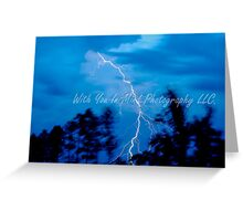 The Strike of Life ! Greeting Card